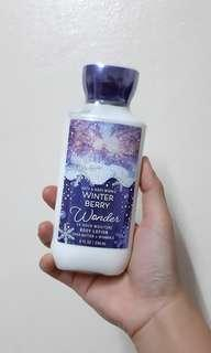 Bath&body works WINTER BERRY body lotion