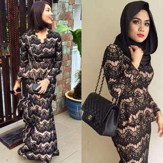 ZALIA Lace Dress - Size XS