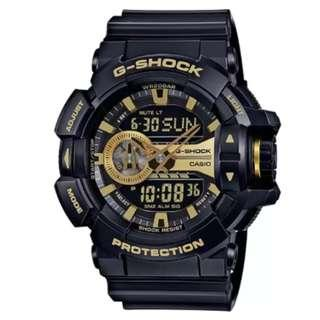 Casio G-Shock New Collection Black Resin Band Watch