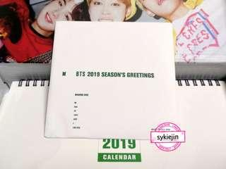 BTS 2019 Season's Greetings