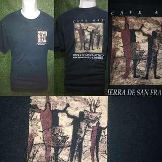 T shirt cave art tag yazbek