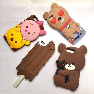 BRAND NEW iphone 6plus 6splus bear brown ice cream