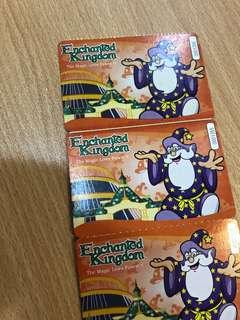 ENCHANTED KINGDOM LAST 12 Tickets