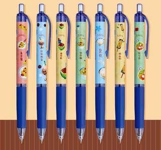 🚚 台灣小吃原子筆
