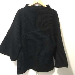 Black women top sweater fit size s special design