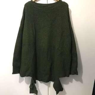 Loose style special design sweater fit s-m