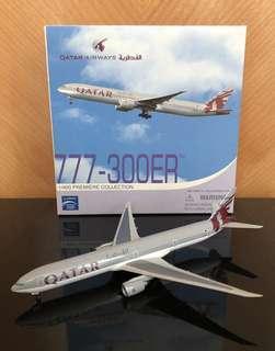 飛機模型 1:400 - Qatar B777-300ER