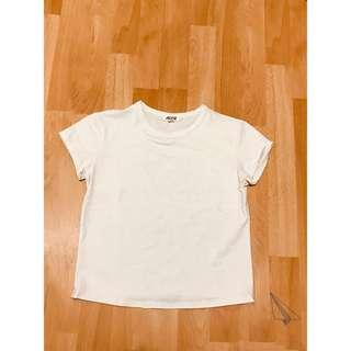 White Crop T from Ardenes size Small