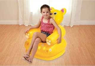 🚚 Genuine INTEX fashion comfortable Winnie the bear children inflatable sofa lazy sofa inflatable chair