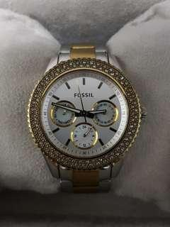 Fossil Half-Gold for Ladies - Beautiful and Authentic