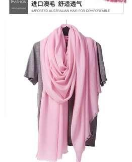 🚚 純天然羊毛圍巾 女