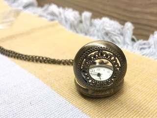 复古懷舊駝錶頸鏈裝飾