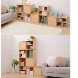10 left! - Mix N Match Wood Cube Storage Box Cabinet System