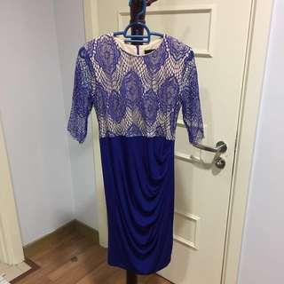 Doublewoot Royal blue Dress