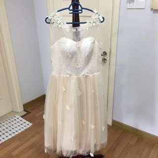 Bridesmaid Dress (Cream)
