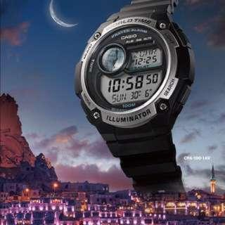 Jam Islamik Waktu Solat Azan CPA-100-1AV