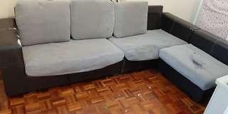 L Shape Sofa (Fabric)