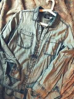 Urban Outfitters BDG Denim Button Up