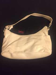 Brand new beba accessories cream handbag