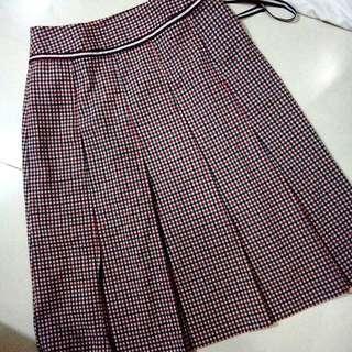 Checkered Retro Skirt
