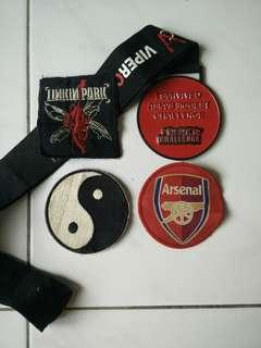 Patches and Medal