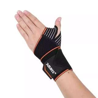 Sports Wrist BandWrist Support Strap Wellness Wraps Hand Sprain Recovery Wristband For Cycling Tennis Gym Accessories Wristband Corrector