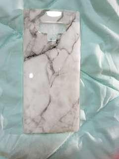 Note 9 White Marble Case