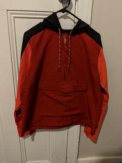 Red/Black Rain Jacket/Jumper