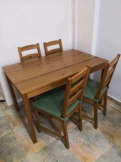 Small Dining Table for 4 pax (IKEA)