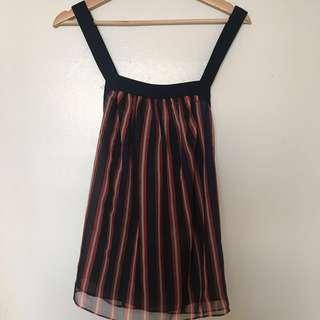 Zara striped cami