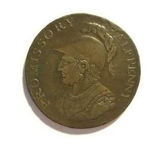 1794年外國古錢幣