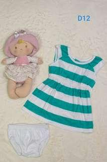 Pre-loved baby Carter's dress