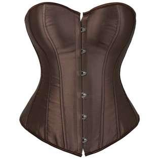 Brown corset size small