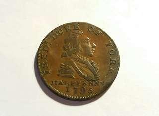1795外國古錢幣