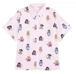 Brand new sailor moon collared shirt