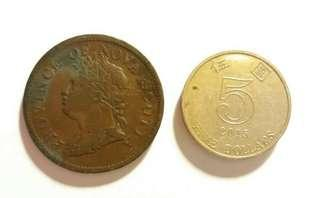 外國古錢弊