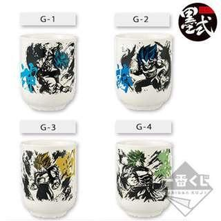 Dragonball Inchiban kuji tea cup
