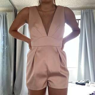 Rose gold jumpsuit