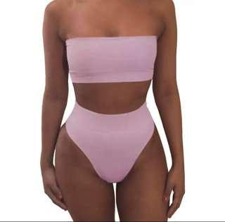 Brand new pink two piece swimsuit
