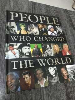 BOOK - PEOPLE WHO CHANGED THE WORLD