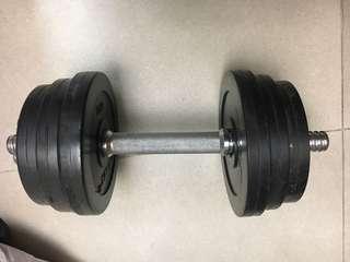 健身啞鈴一對(1kg+1.25kg+2kg) each side