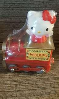 Hello Kitty 擺設2007年中古💖 火車頭💖