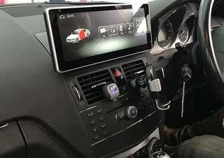 10.25 inch 1280*480 Android 8.1 2GB RAM and 32GB ROM GPS multimedia player for Right Hand Drive Mercedes/BMW/Audi/Lexus.