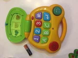 嬰幼兒電子ABC學習機( 有音樂)
