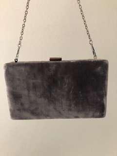 Nine West clutch bag silky grey