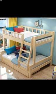 Preorder bunk bed , separable bunk bed