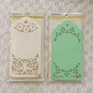 Recollections Decorate It Tags 12 pcs