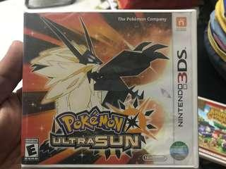 3DS GAME Pokémon Ultra sun