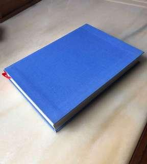 Notebook: Light Blue A5 Linen Soft Cover Paperchase Lined (筆記簿)