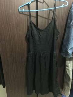NEW ! Black Simple Dress (H&M)